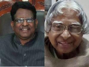 Meghalaya Raj Bhavan Staffs Alleges Shanmuganathan On Kalam Last Breath Time