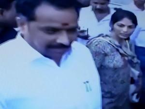 Police Harassment Woman Complaint Minister Vijaya Bhaskar