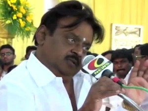 Vijayakanth Writes Pm About Pongal Holiday Announcement