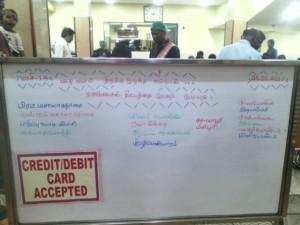 Hydrocarbon Against Slogans Hotel Menu Board Chennai