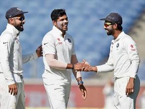 st Test Day 2 India Bowl Australia