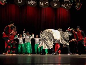 Us Tamils Perform Jallikkattu Dance Walmart Capital