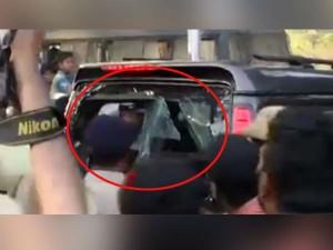 Rowdy Hired Create Violence As Sasikala Entered Bengaluru Jail Premises