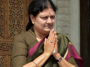 Sasikala Writes Letter From Prison