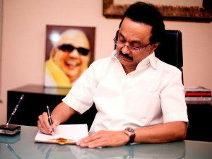Leader The Opposition M K Stalin Writes Letter The Governor