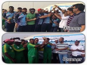 Cricket Tournmament Conducted Abudhabi