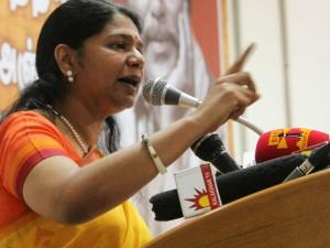 Kanimozhi Condemnes On Actor Radharavi S Speech About Handic