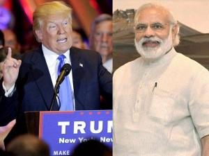 Donald Trump Congratulates Narendra Modi U P Elections Win