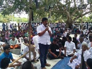 Neduvasal Protester Team Meets Union Minister Delhi