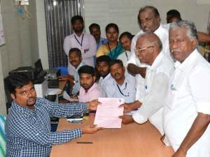 Rk Nagar Poll Nomination Files End