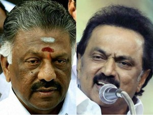 O Panneer Selvam Mk Stalin Are Not Meeting Farmers Protesting In Delhi