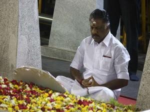O Panneer Selvam Is Going Conduct Fasting Protest 32 Places
