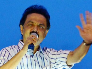 M K Stalin Denies The Argument Dmk Gets Benefit From Aiadmk Symbol Block