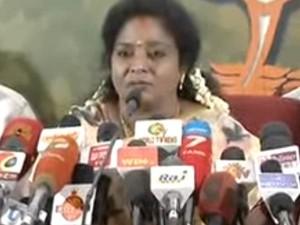 Bjp S Hero Modi Says Tamilisai Soundrarajan