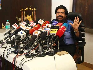 May The Cm Afraid Threaten Sasikala Team Asks T Rajendar