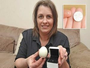 Cumbrian Woman S Shock At Finding Jewel Her Hard Boiled Egg