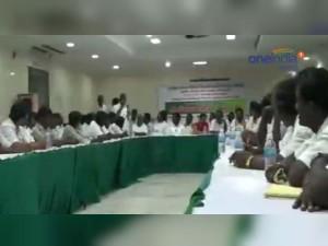 Party Meeting Held At Vilupuram