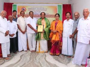 Australian Tamil Writer Jayarama Sharma Felicitated
