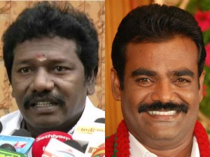 Admk Alliance Leaders Actor Karunas Thaniyarasu Hesitate Rk Nagar