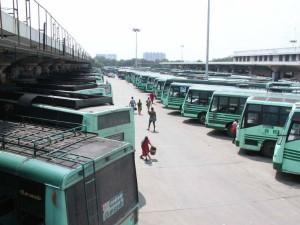 Bus Belonging Tamil Nadu State Transport Corporation Was Co
