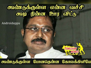 Memes On Internet About Ttv Dinakaran Arrest Tamil Nadu Current