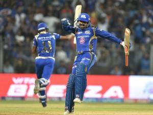 Mumbai Indians Won The Toss Chose Fielding