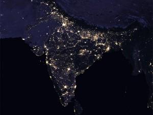 Nasa Images India At Night Is Stunning