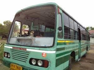 Tn Bandh Stones Pelted At Buses