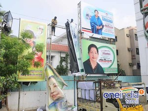 Sasikala Banners Removed From Party Office Admk Workers Happy