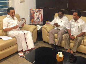 Why Pmk S Balu Meets Stalin Ops