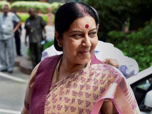 Sushma Swaraj Thanks Somalia Rescuing Indian Nationals Held