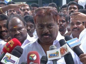 Vijayakanth Regrets Over Comments Against Journalists