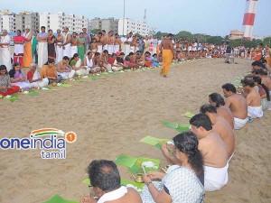 Pithru Tharpanam Satisfying The Ancestors