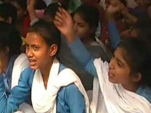 In Haryana School Students Keeping Hunger Strike 8th Day
