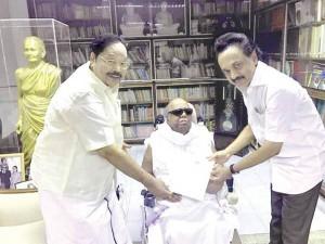Stalin Gave Invitaion Karunanidhi Diamond Jubilee Celebration