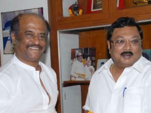 Mk Azhagiri Meet Rajinikanth