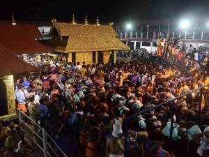 Sabarimala Temple Path Open Coming 14th