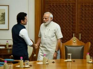 Sachin Tendulkar Meets Pm Narendra Modi Week Before His Movie
