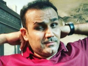 Sehwag Blames Wife Missing Sachin S Movie Premiere With Hilarious