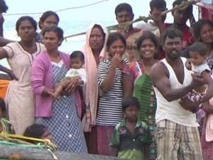Sri Lankan Refugees Trying Escape Australia
