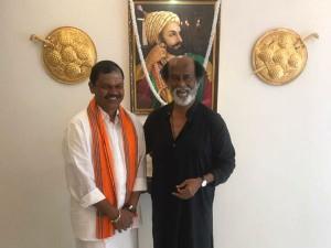 Arjun Sampath Meets Rajinikanth