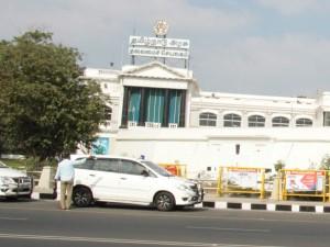 Police Have Deployed Tamilnadu Assembly Fourth Gate Today