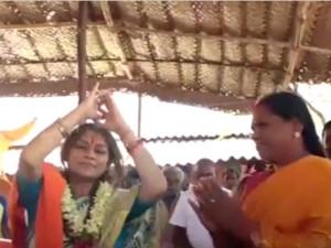 Bjp Mp Performs Kuthu Dance Dharapuram