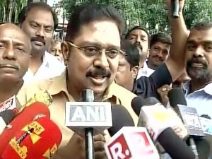 Ttv Dinakaran Says He Didn T Talk About Politics Sasikala