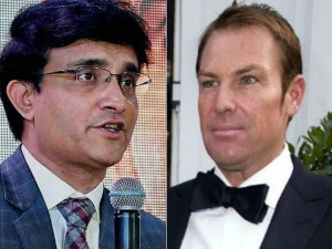 Champions Trophy Warne Honours Ganguly S Bet Will Wear England
