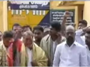 Police Deployed Kathiramangalam Stop Public Protest