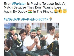 Netizens Making Fun Pakistan Players On The Champions Trophy