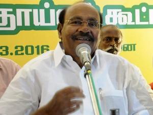 Ramadoss Condemns Building Memorial Hall Jayalalitha