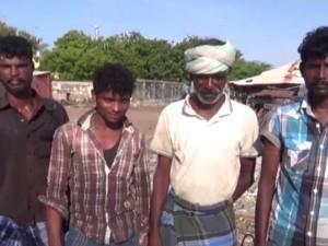 Srilankan Navy Force Arrested Rameshwaram Fishermen