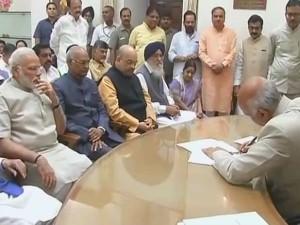 Next President India 20 State Cms Ram Nath Kovind Nomination